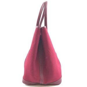 Hermès Bags - Garden Party Bag Burgundy Red Leather Tote